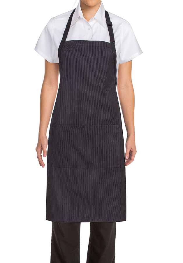 Butcher Apron With Contrasting Ties Aprons Com