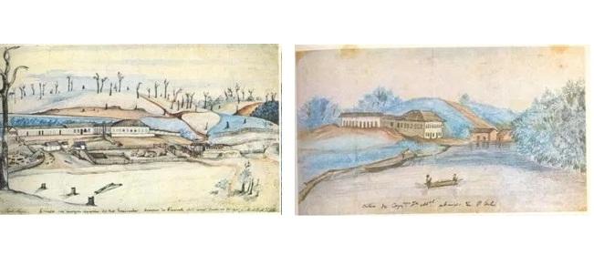 Fazenda do Visconde do Monte Alegre – Piracicaba 1845 / Sítio do Capitão José Manuel – Porto Feliz – Rio Tietê
