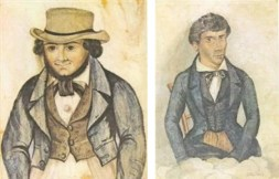 Figura com chapéu / Retrato 1843