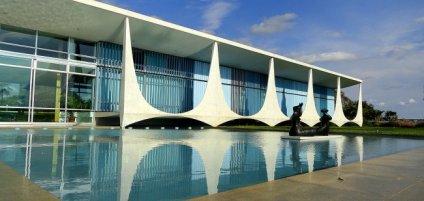 Palácio da Alvorada (1957-1958), residência oficial do presidente da República, em Brasília (DF) .