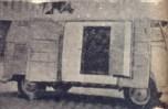 O Carro-Bar, outra adaptação da camioneta Kombi Volskswagen, de grande interesse para o comércio de bebidas e sorvetes.