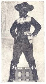 Fantasia de Zorro era de Clarice Leite, que ganhou segundo lugar