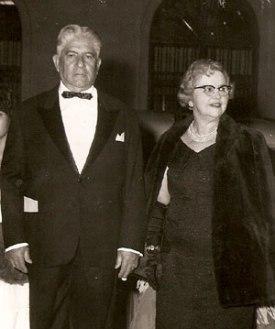 casal Ricardo Ferraz de Arruda, representantes da antiga aristocracia piracicabana