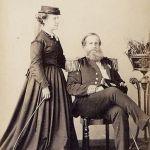 Princesa Isabel e seu pai Dom Pedro II