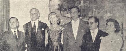 O casal dr. Arnaldo (Nida) Ricciardi