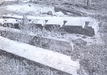 Casa-sede, que foi demolida