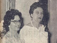 O casal Armando (Norma) Dedini, com o casal dr. Adhemar (Zaida) Spallini, o ministro Fontana, cônsul da Itália em São Paulo, e o dr. Losso Netto, diretor do Jornal de Piracicaba