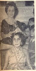 Princesa Therezinha Padilha recebeu a coroa de Helena Ferrari Ricciardi