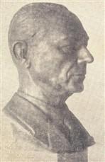 Morrone esculpiu este magnífico busto de Mário Dedini, que foi instalado na sede do Cristóvão Colombo em homenagem ao grande industrial
