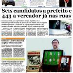 Jornal A Tribuna Piracicabana – edição n. 9.928, pg. 01, de 7 de julho de 2012 – Ano 38