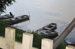 Barquinhos no Tanquã - Foto: Cynthia da Rocha