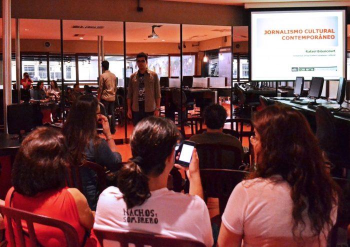Rafael Bitencourt ministra mini curso no Sesc FOTO CLAUDIA ASSENCIO