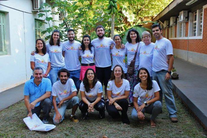 Equipe da OCA-ESALQ que organiza curso no Sesc