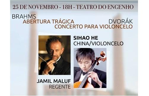 Sinfônica de Piracicaba recebe o solista Sihao He ao violoncelo
