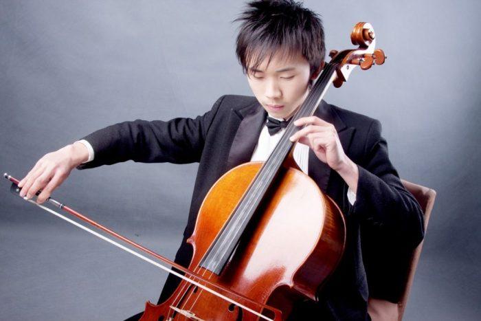 Sihao He, violoncelista chinês
