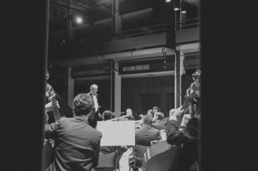 Sinfônica de Piracicaba apresentando no Teatro Erotides de Campos - Foto: Denis Marcorin