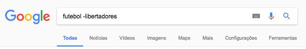 google-excluir-palavras
