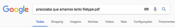 google-tipo-arquivo