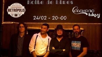 Metrópolis Café realiza Noite de Blues