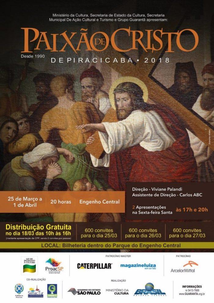 Paixão de Cristo de Piracicaba 2018