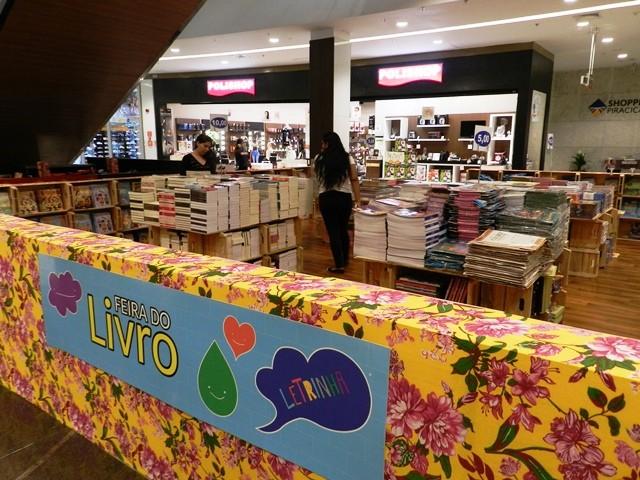 Feira do Livro no Shopping Piracicaba