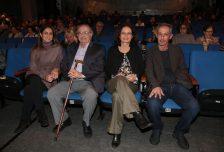 Cecílio Elias Netto entre os filhos Rachel Fuzeti Elias - secretária do ICEN -, Patrícia e Marcelo - presidente do ICEN