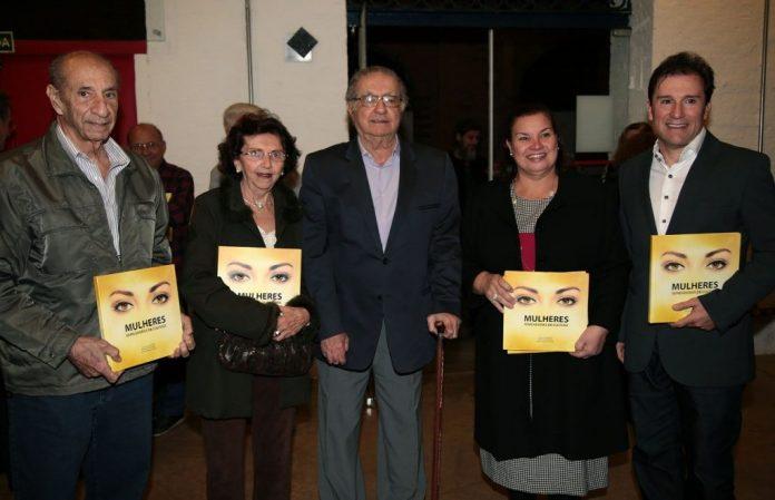 Gustavo Jacques Dias Alvim, Valdiza Capranico, Cecílio Elias Netto, Rosângela Camolese e Ricardo Amalfi