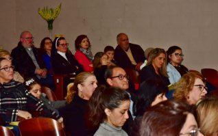 Parte do público presente no lançamento em Campo Largo