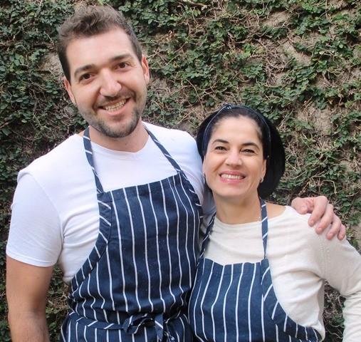 Chefs Enzo e Sandra