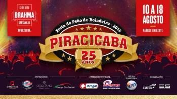 25° Festa do Peão de Piracicaba segue até dia 18
