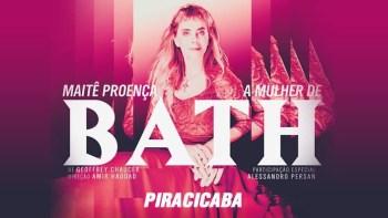"""Maitê Proença apresenta-se em Piracicaba em """"A mulher de Bath"""""""