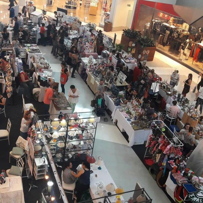 Feira Arte Mix – Mais de 40 expositores levam novidades aos clientes do Shopping Piracicaba