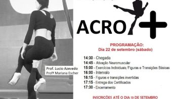 Academia realiza 1º Workshop Acro +