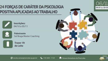 24 Forças de Caráter da Psicologia Positiva aplicadas ao Trabalho