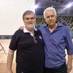 Luis Guilherme Schnor e Rodolfo Norivaldo Geraldi (foto- Vitor Prates)