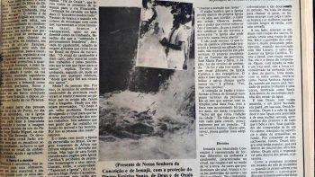 Em 1987: Festa de lemanjá