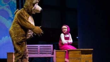 Masha e o Urso em Piracicaba