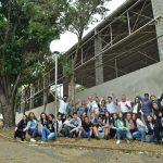 Alunos da escola junto com a equipe da NA+ e parceiros FOTO RAFAEL BITENCOURT- NA+