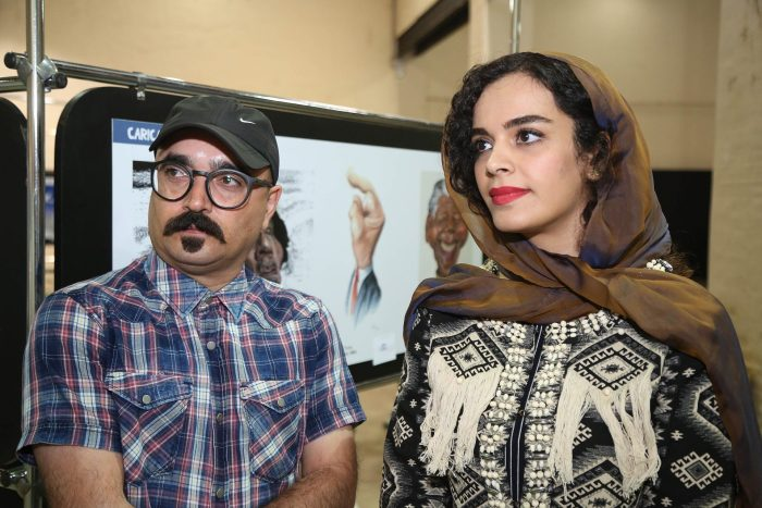 Mostra reúne trabalhos dos iranianos Alireza Pakdel e Saba Darabian FOTO CHRISTIANO DIEHL