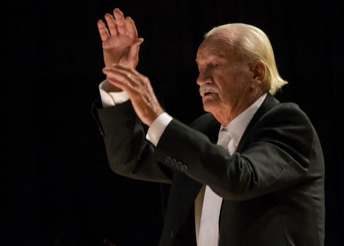 Ernst Mahle será homenageado pelo aniversário de 90 anos – foto Rodrigo Alves (1)