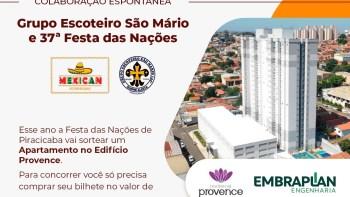 Grupo Escoteiro integra campanha da Festa das Nações