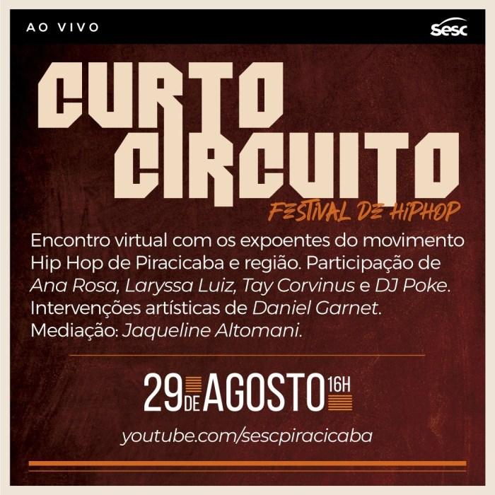 Curto Circuito_29-8_YT Sesc Piracicaba
