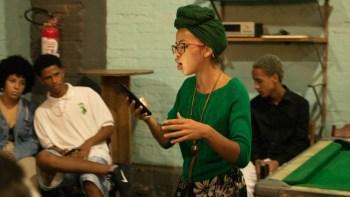Sarau online debate mudanças climáticas com jovens