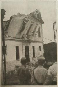 Quando foi derrubado o Palácio do Gavião, a cadeia velha