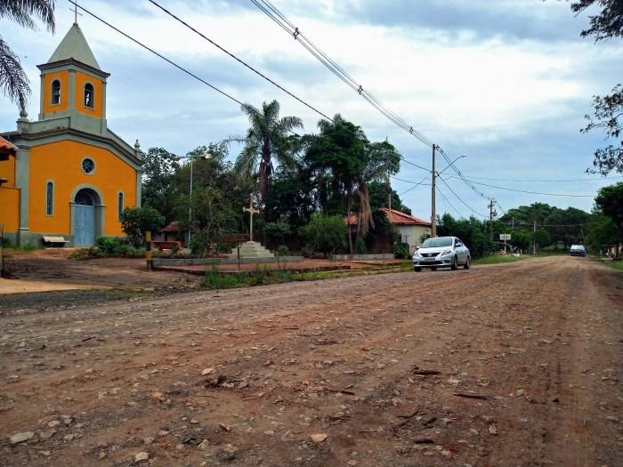 A PIR-052 corta a localidade de Água Santa, que fica na Zona Rural de Piracicaba