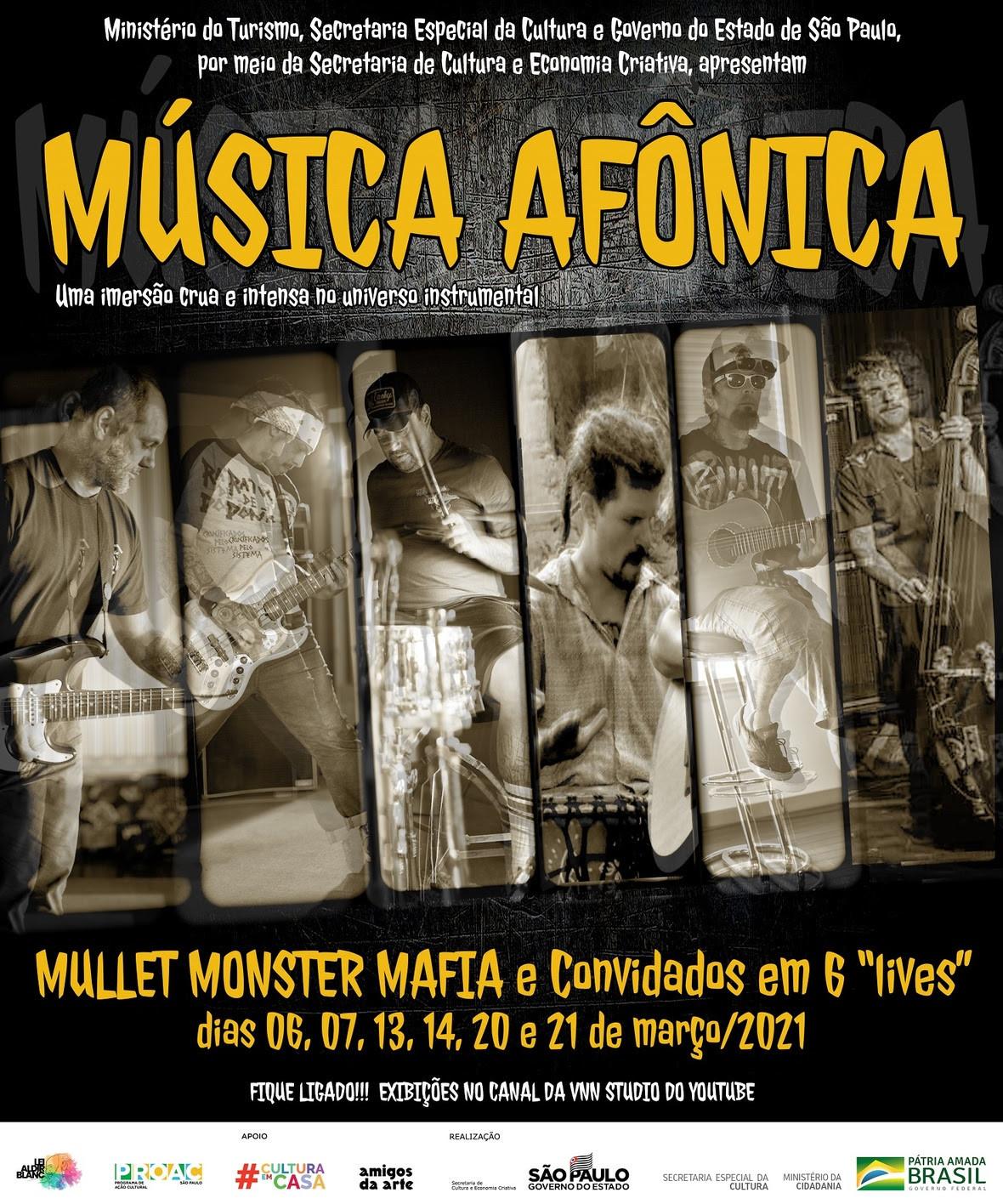 The Mullet Monster Mafia celebra 12 anos com shows online