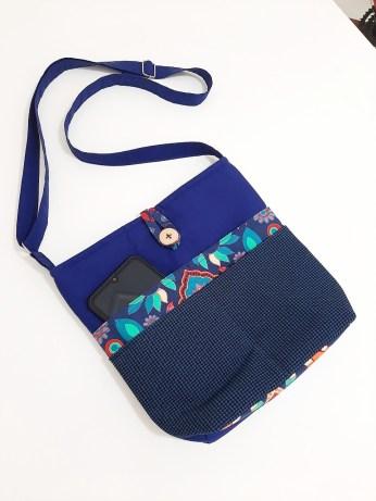 Bolsa de tecido - costura criativa. (foto: divulgação)