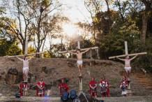 """Encenação da """"Paixão de Cristo de Piracicaba"""". (foto: Tiago Rochetto)"""