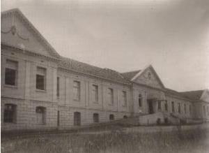 Novo Hospital da Santa Casa construído ao longo da década de 1920.