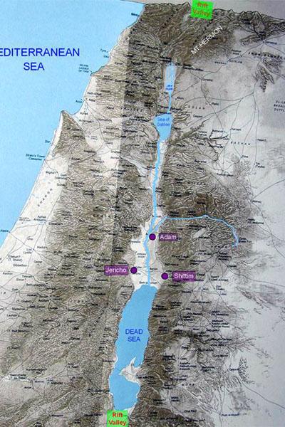 ISRAEL - Vale do Rio Jordão